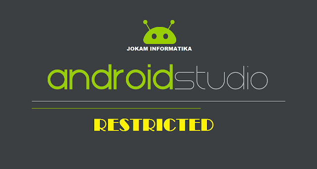 Cara Mengatasi Failure [INSTALL_FAILED_USER_RESTRICTED: Install canceled by user] Pada Android Studio - JOKAM INFORMATIKA