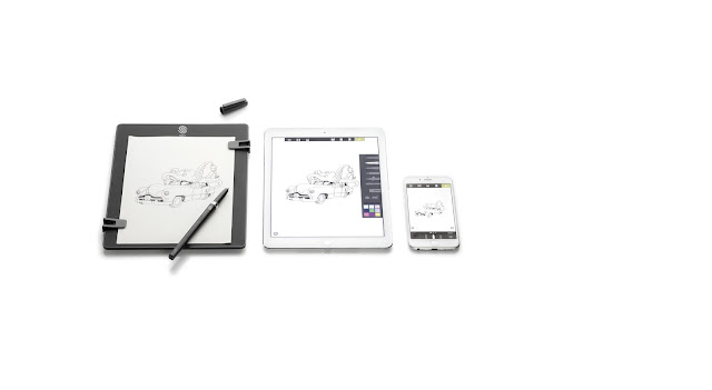 tablette graphique, the slate, iskn, lifestyle, design