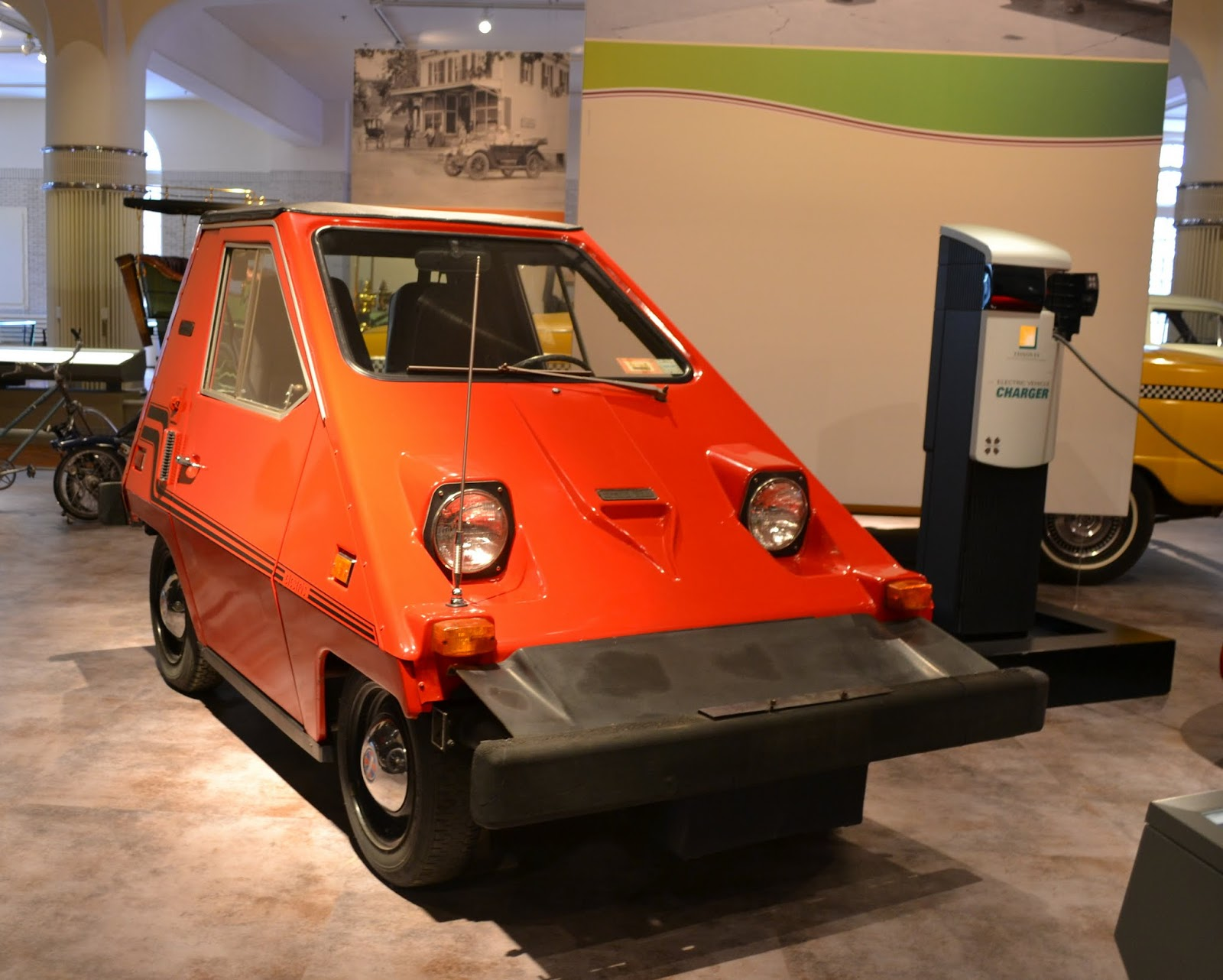 Comuta-Car, 1980 года. Музей Генри Форда. Дирборн, Мичиган (Henry Ford Museum, Dearborn, MI)