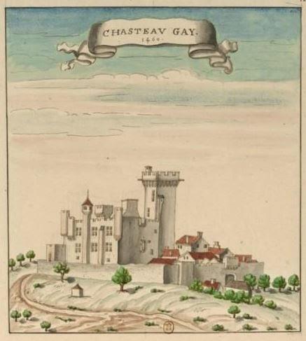 Le château-fort de Châteaugay.