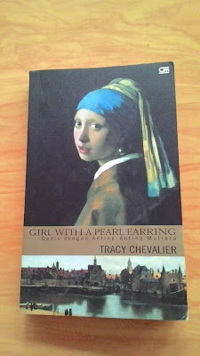 buku tracy chevalier buku girl with a pearl earring