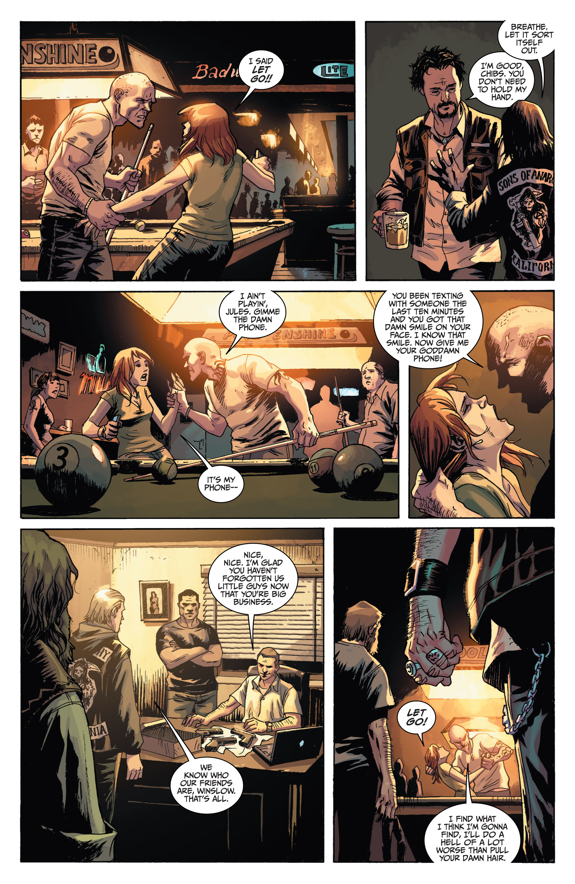 Read online Sons of Anarchy comic -  Issue #1 - 12