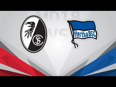 Freiburg vs Hertha Berlin Full Match & Highlights 22 October 2017