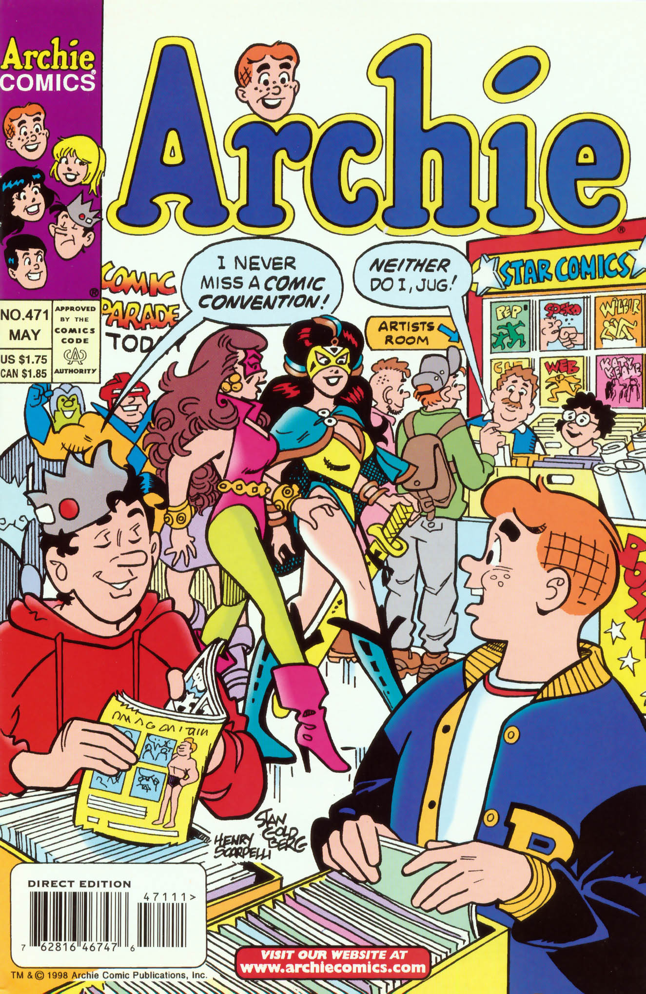Read online Archie (1960) comic -  Issue #471 - 1