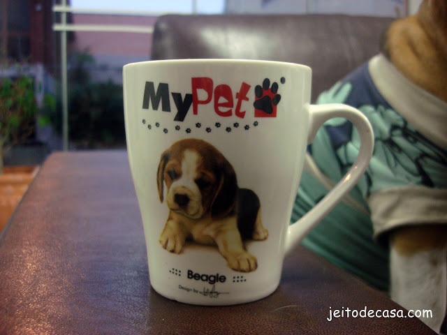 caneca com estampa pet
