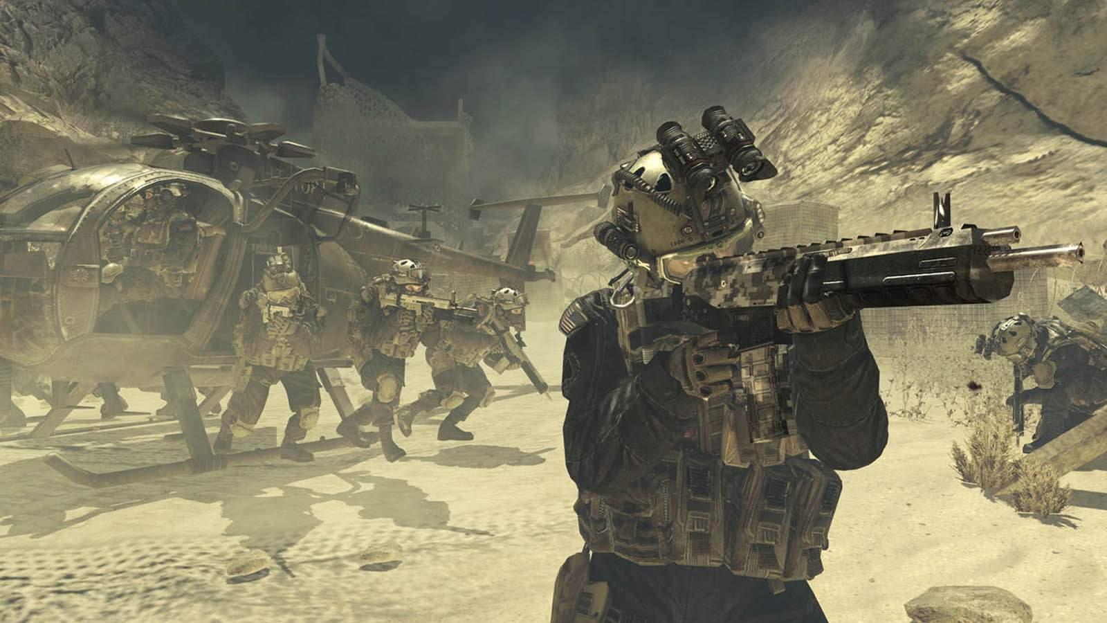 تحميل لعبة Call Of Duty 4 Modern Warfare 2 مضغوطة برابط واحد مباشر + تورنت كاملة مجانا