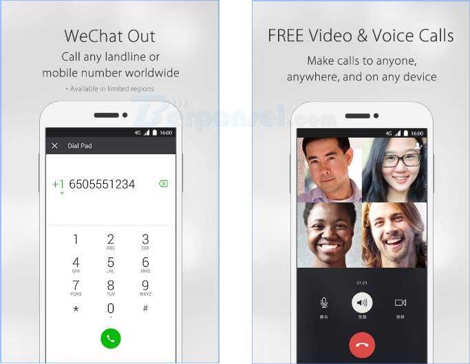 aplikasi video call android wechat gratis untuk android apk
