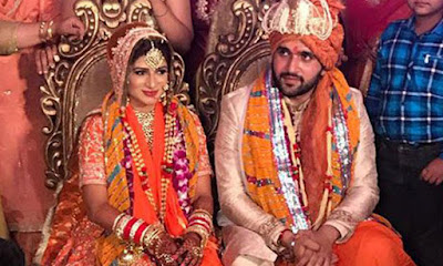Mohit-Saggar-And-Roop-Bhinder-wedding