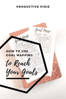 How to Use Goal Mapping to Reach Your Goals