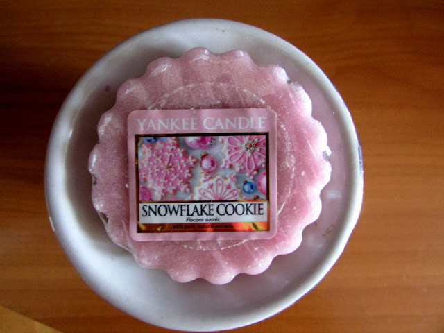 Snowflake Cookie wosk Yankee Candle