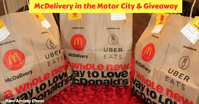 McDelivery in the Motor City & Giveaway, Motor City, fries, facts, Metro Detroit, recipes, secret menu, Uber Eats, Mcdonalds, food, delivery,