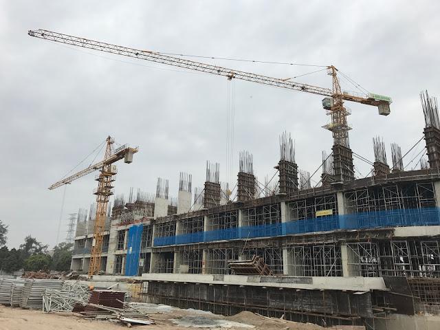 Tiến độ xây dựng tòa CT1 dự án Gelexia Riverside
