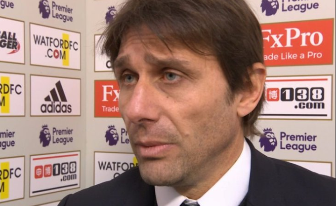 See how Conte explains Chelsea's defeat in defiant response