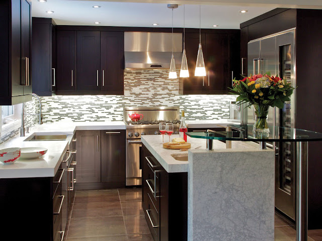 Longer Gray Kitchen Cabinets Design Ideas 2016