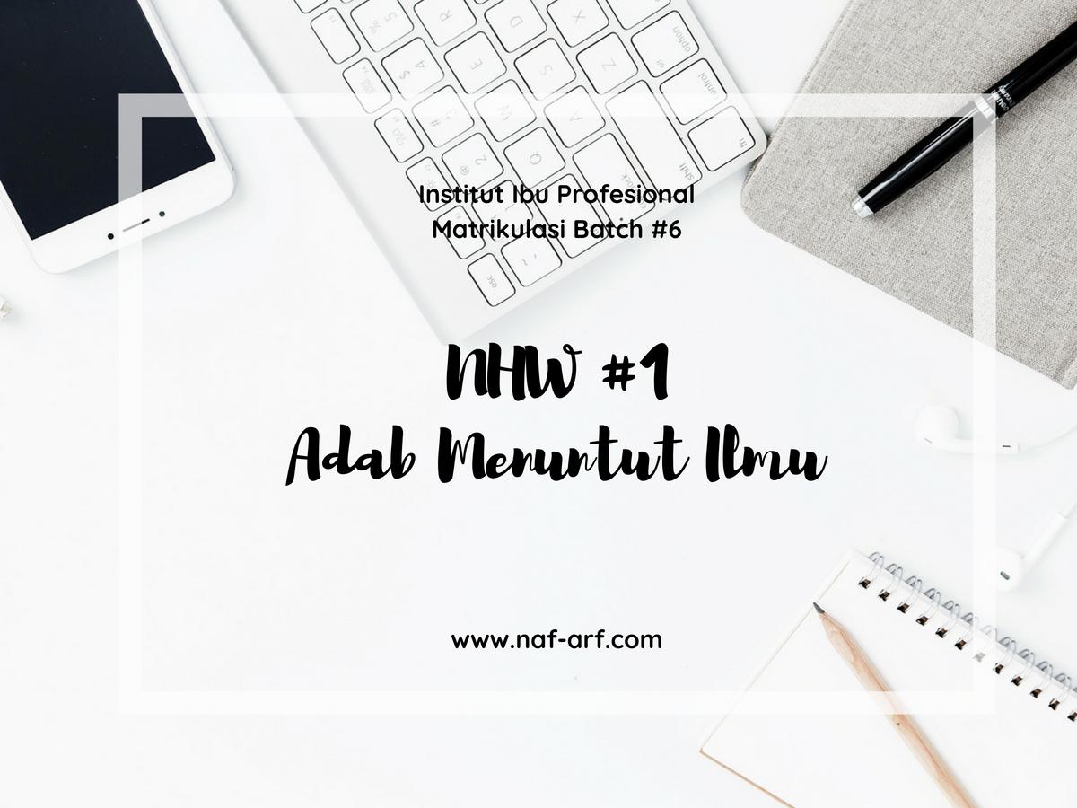 NHW Matrikulasi Institut Ibu Profesional
