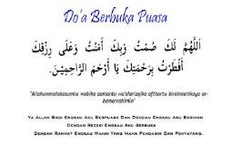 Doa Berbuka Puasa Sesuai Ajaran Nabi Muhammad