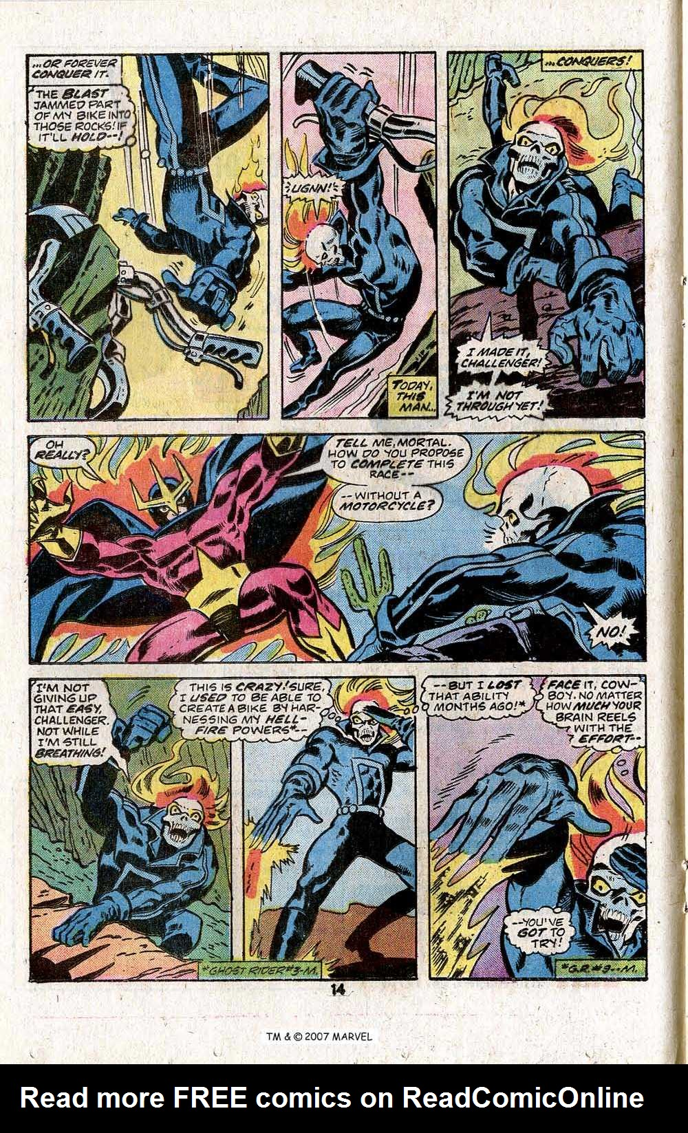Ghost Rider (1973) Issue #18 #18 - English 16