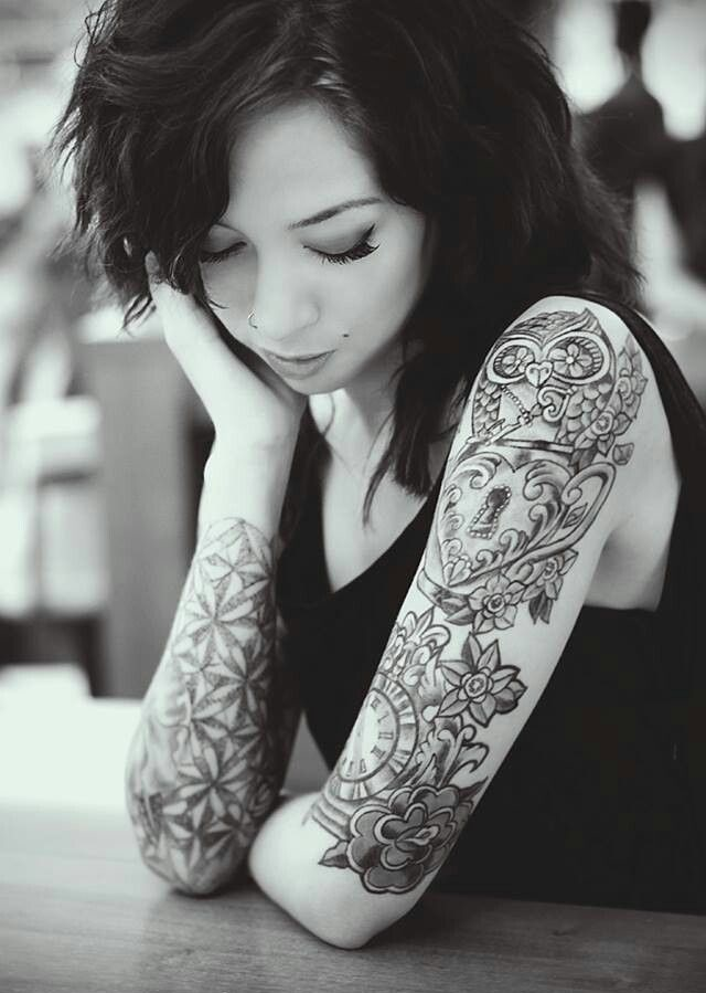100 arm tattoo designs for girls - 640×899