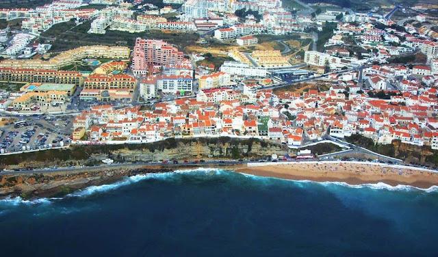 imagem aérea da Ericeira