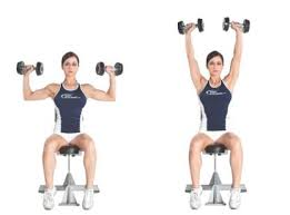 Shoulder Press With Dumbbells