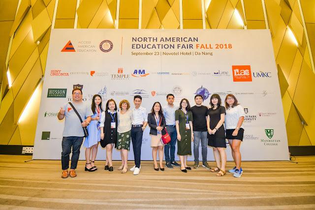 Đà Nẵng: Triển Lãm Du Học Mỹ & Canada Mùa Thu 2018