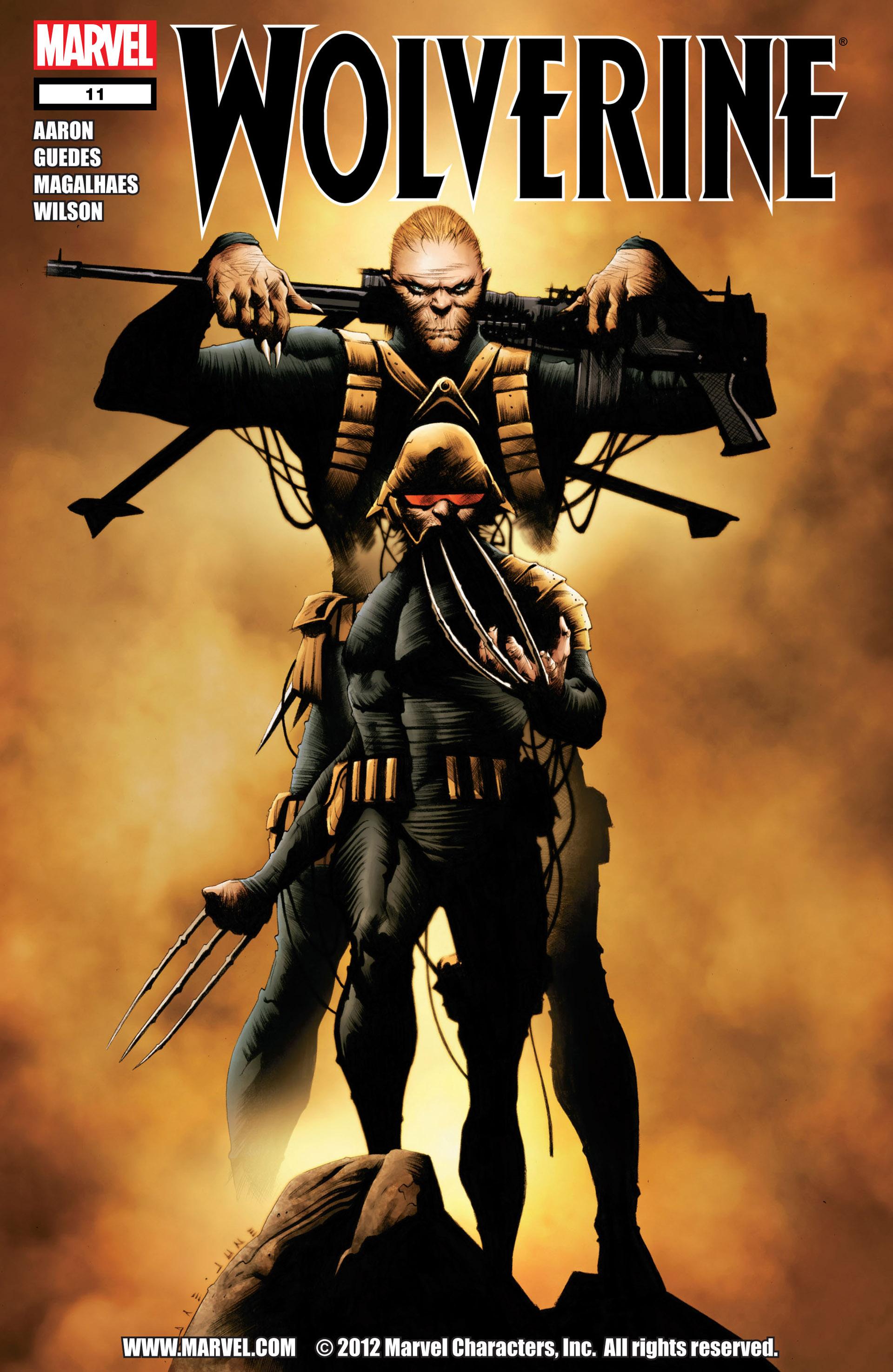 Wolverine (2010) 11 Page 1