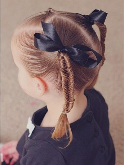 fishtail girls hairstyle opt