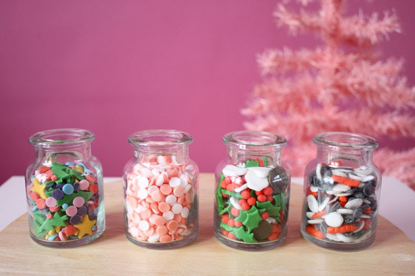 homemade christmas sprinkle mixes