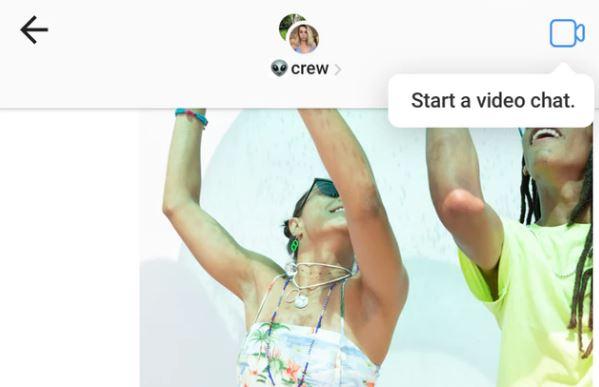 solusi video chat di instagram tidak muncul
