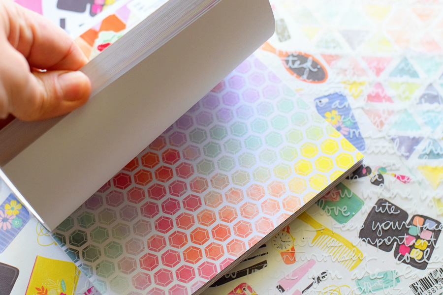 patterned scrapbook paper