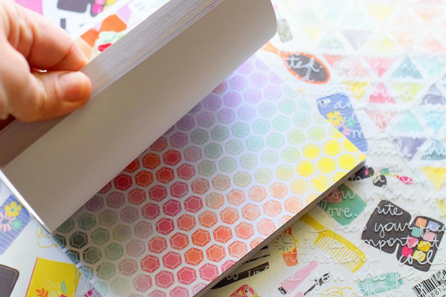 patterned scrapbook paper