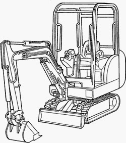 bobcat 442 mini excavator service repair manual pdf 522311001-528611001