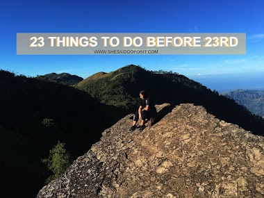 23 things before 23rd