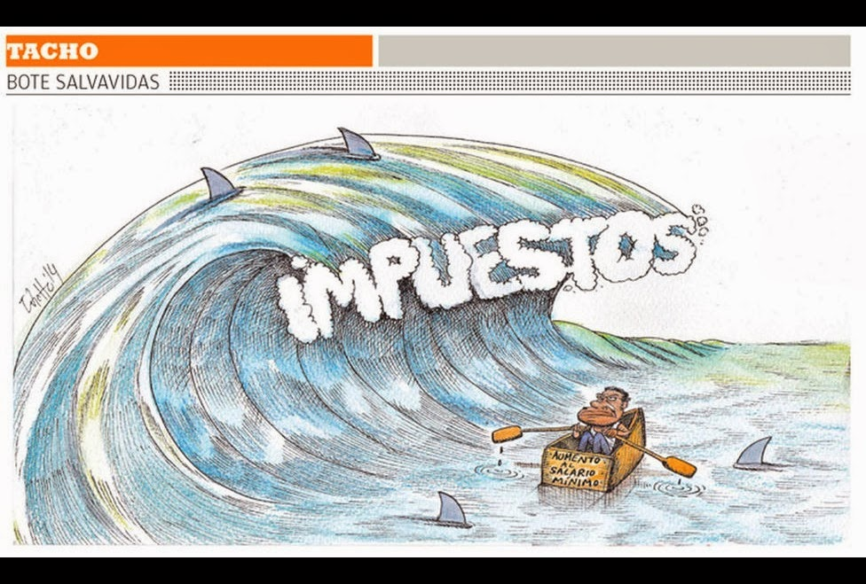 Image result for impuestos caricaturas