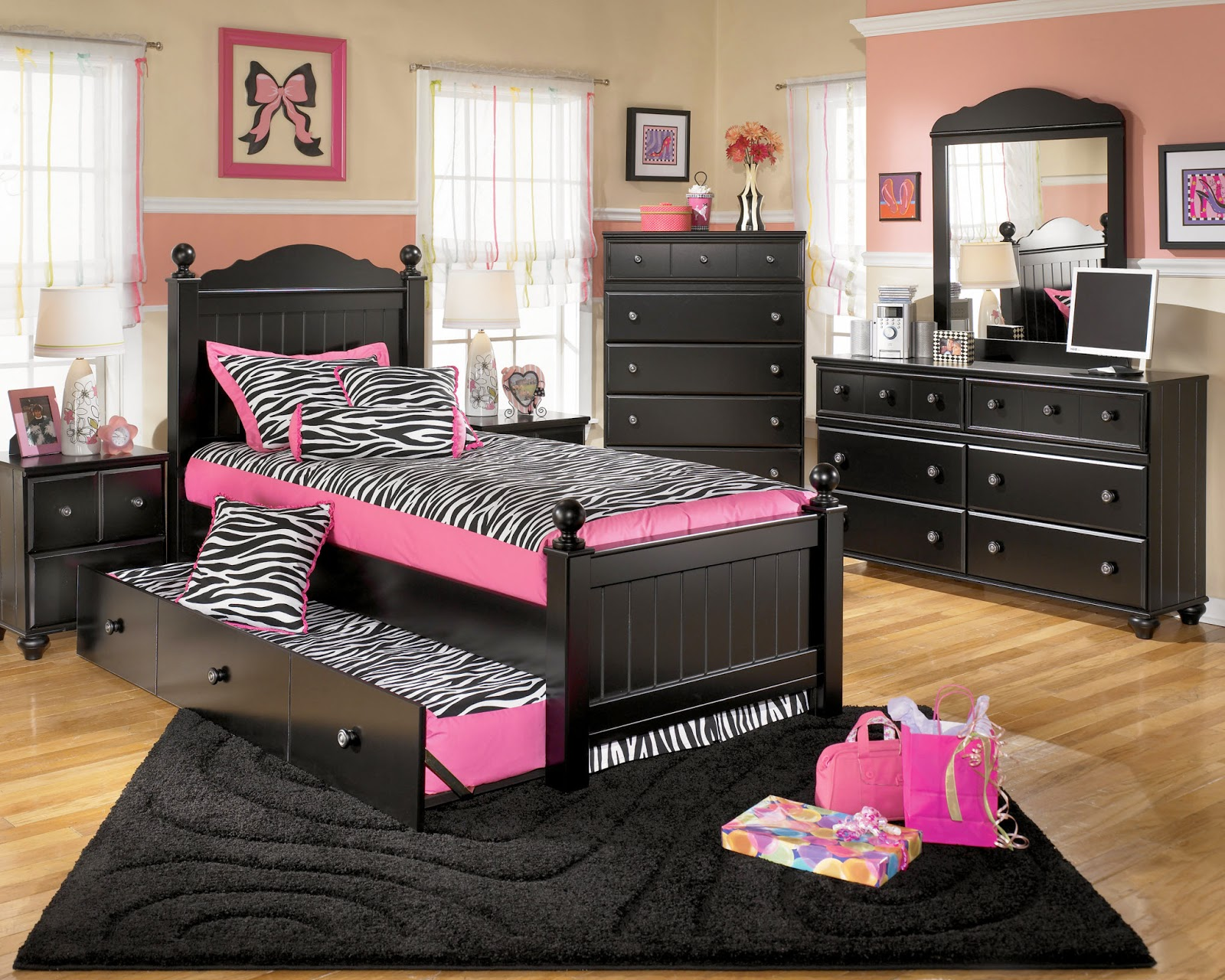 Stunning Bedroom Furniture For Girls s Home Design Ideas