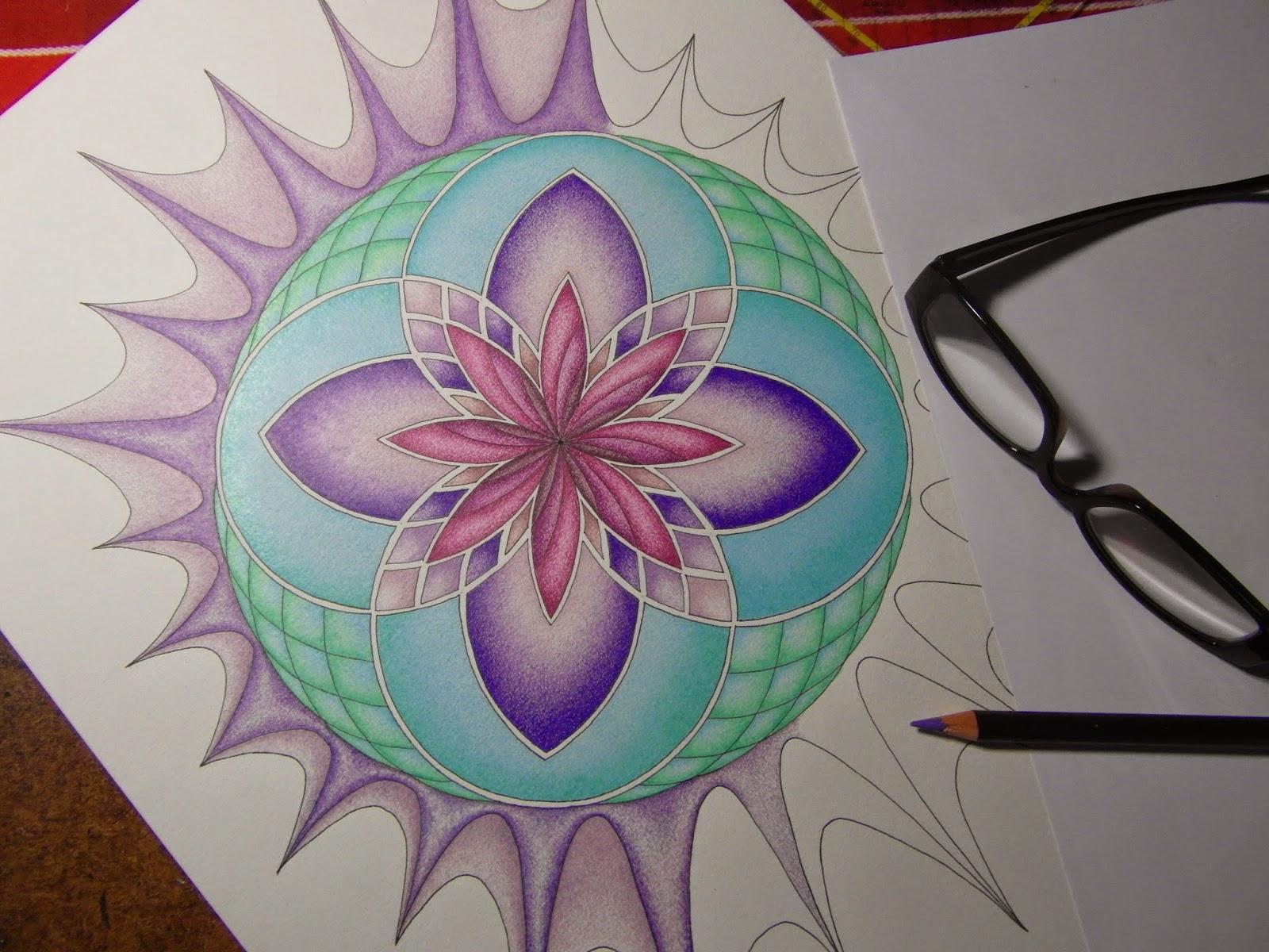 Meditatief Kleuren en Kleurtechniek, een tipje van de sluier opgelicht
