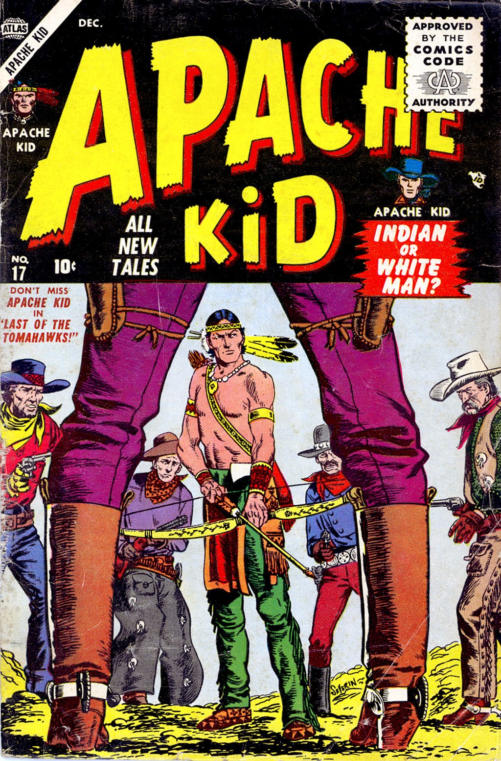 Apache Kid issue 17 - Page 1