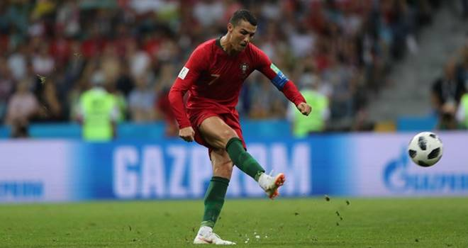 Portugal vs Spanyol - Piala Dunia 2018 Grup B