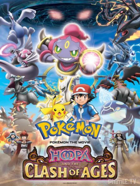 Pokemon Movie 18: Hoopa và Cu�?c Chiến Pokemon Huyền Thoại