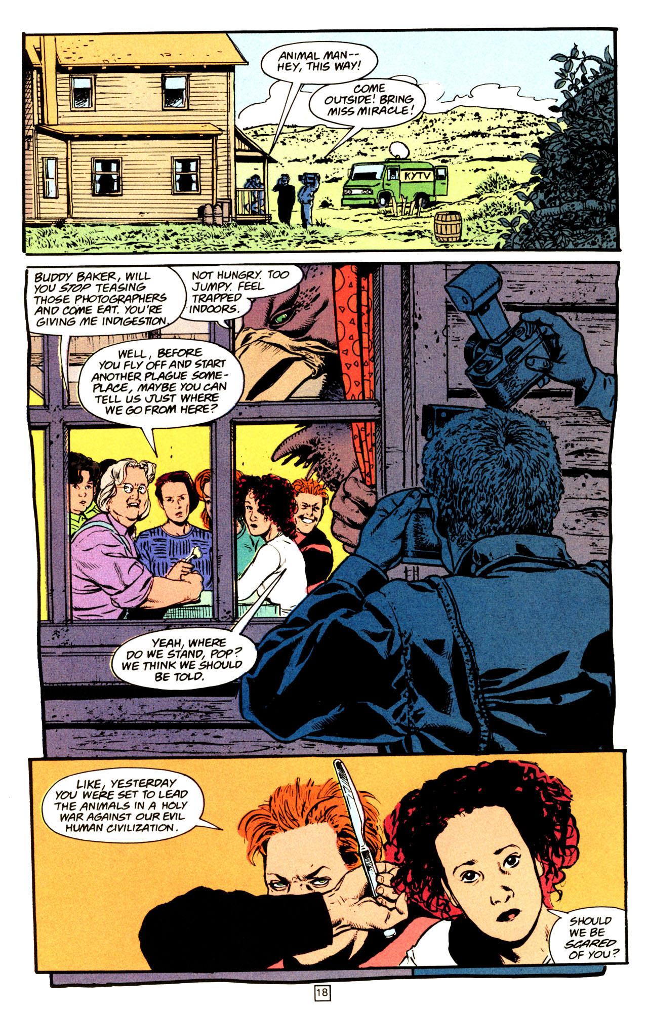 Read online Animal Man (1988) comic -  Issue #72 - 19