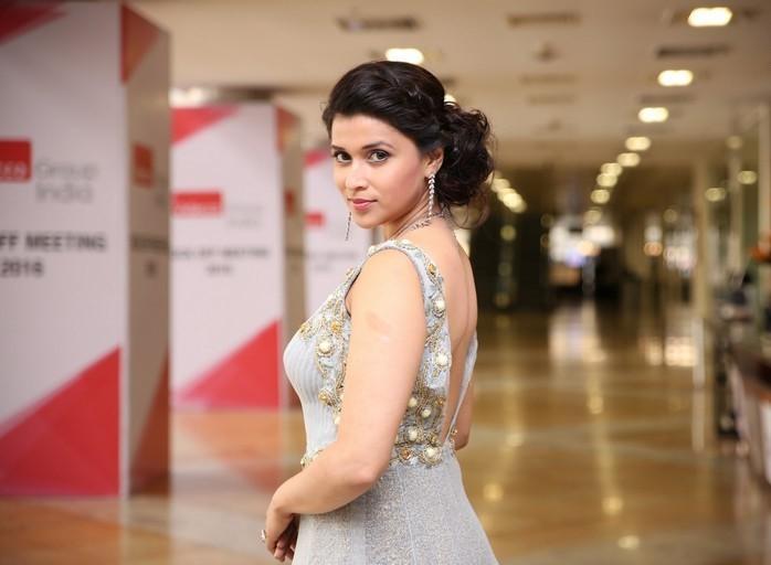 Mannara Chopra Hot Cleavage Photoshoot