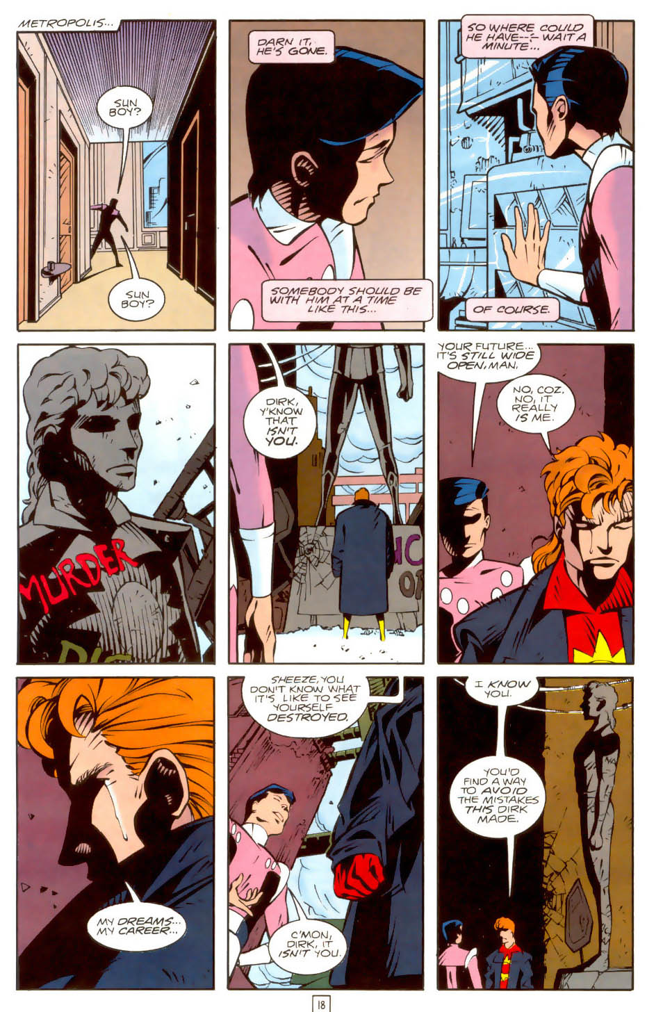 Legion of Super-Heroes (1989) 36 Page 18