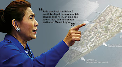 Kepada KPK, Menteri Susi Sudah Lengkapi Data 'Grand Corruption' Reklamasi Teluk Jakarta