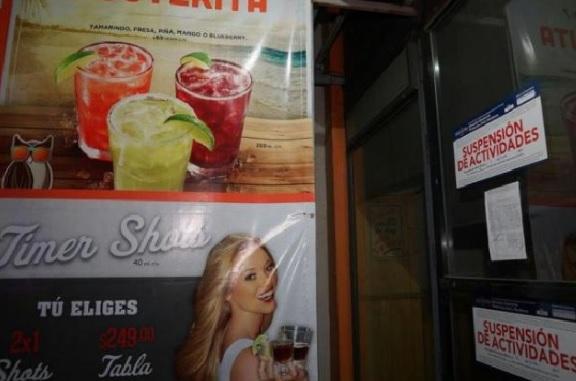 Bebidas, restaurante