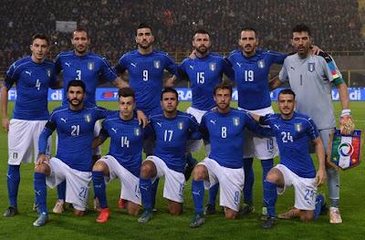 Daftar Skuad Pemain Timnas Italia 2017 Terbaru