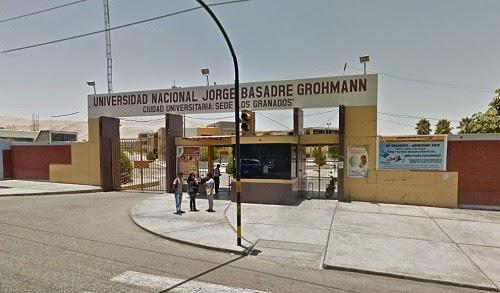 Universidad Nacional Jorge Basadre Grohmann - UNJBG