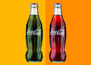 real color of coca cola