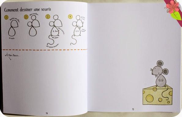 Je dessine... Pas à pas - éditions Usborne