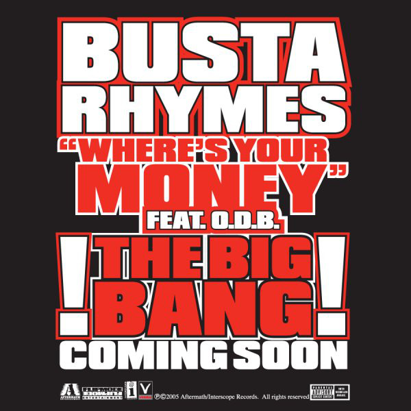 Busta Rhymes - Where's Your Money - EP  Cover