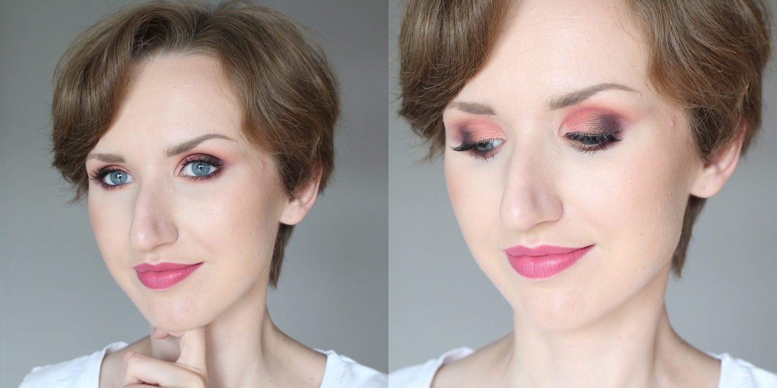 too-faced-sweet-peach-makijaż-makup